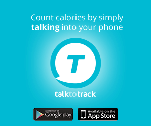 The ALL-NEW Talk-to-Track app is our patent-pending natural language diet tracker that allows you to count calories by simply TALKING into your phone.